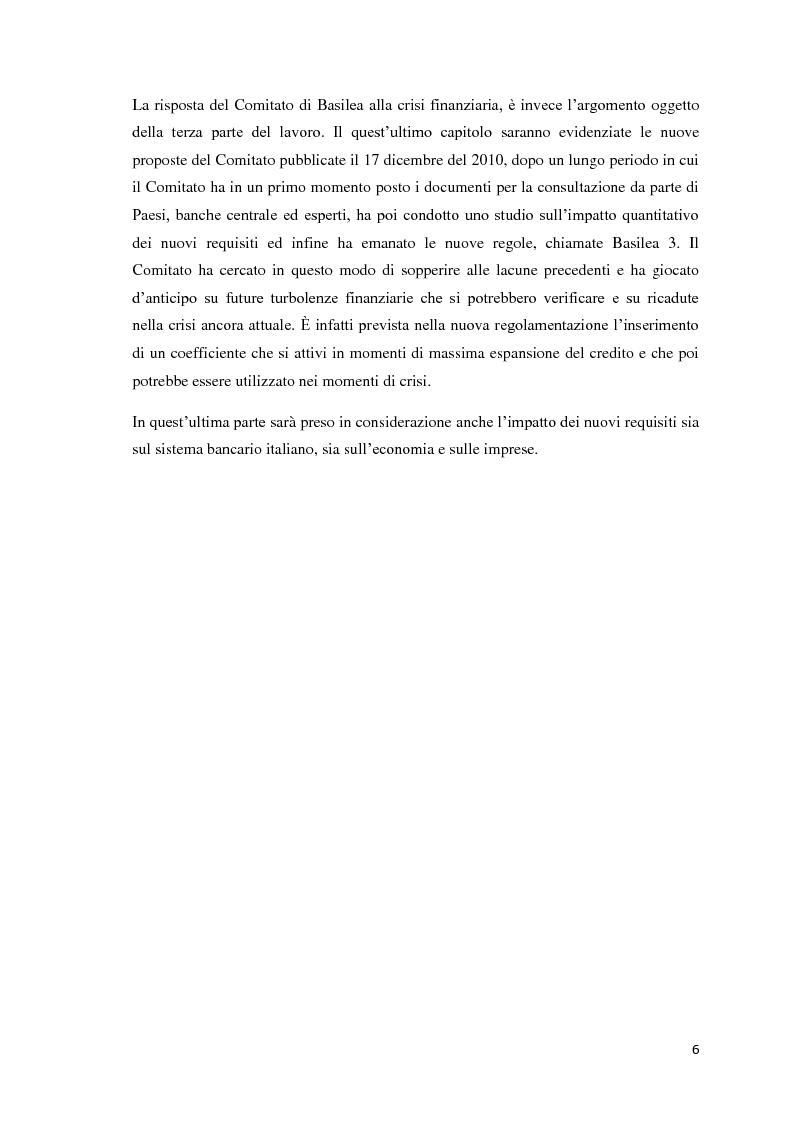 Anteprima della tesi: L'esigenza di un sistema finanziario stabile: Basilea 3, Pagina 3