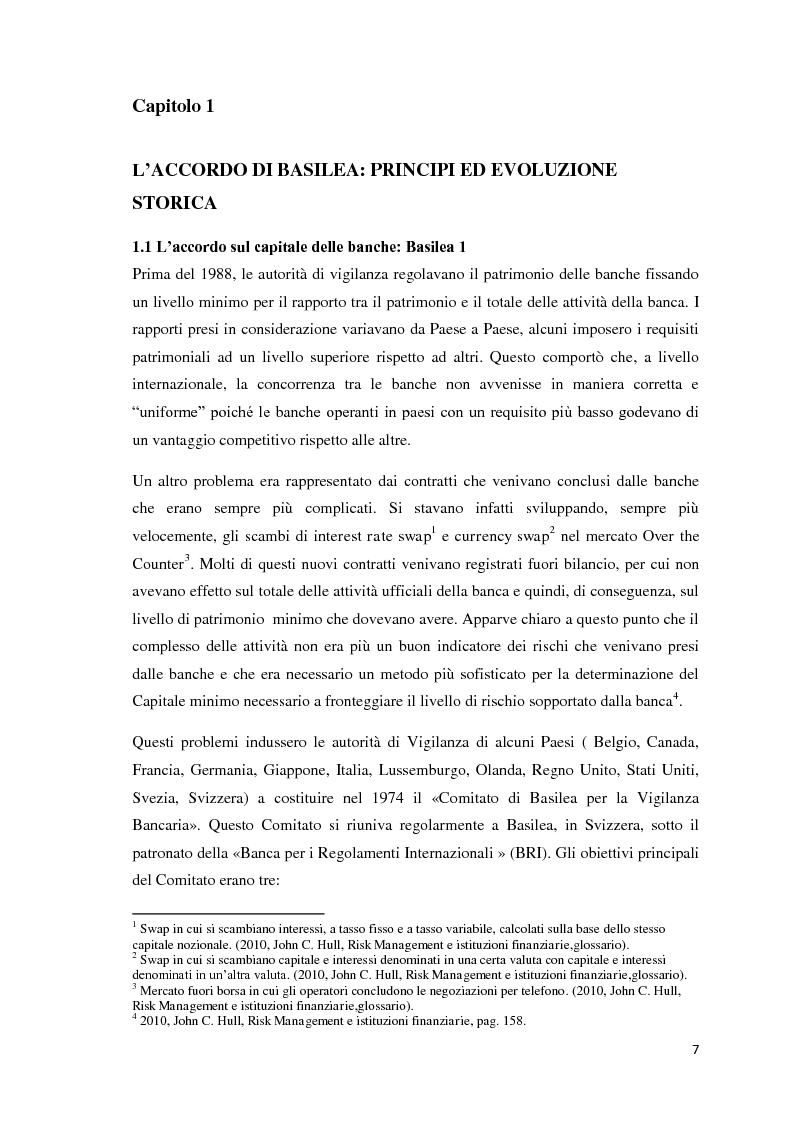 Anteprima della tesi: L'esigenza di un sistema finanziario stabile: Basilea 3, Pagina 4