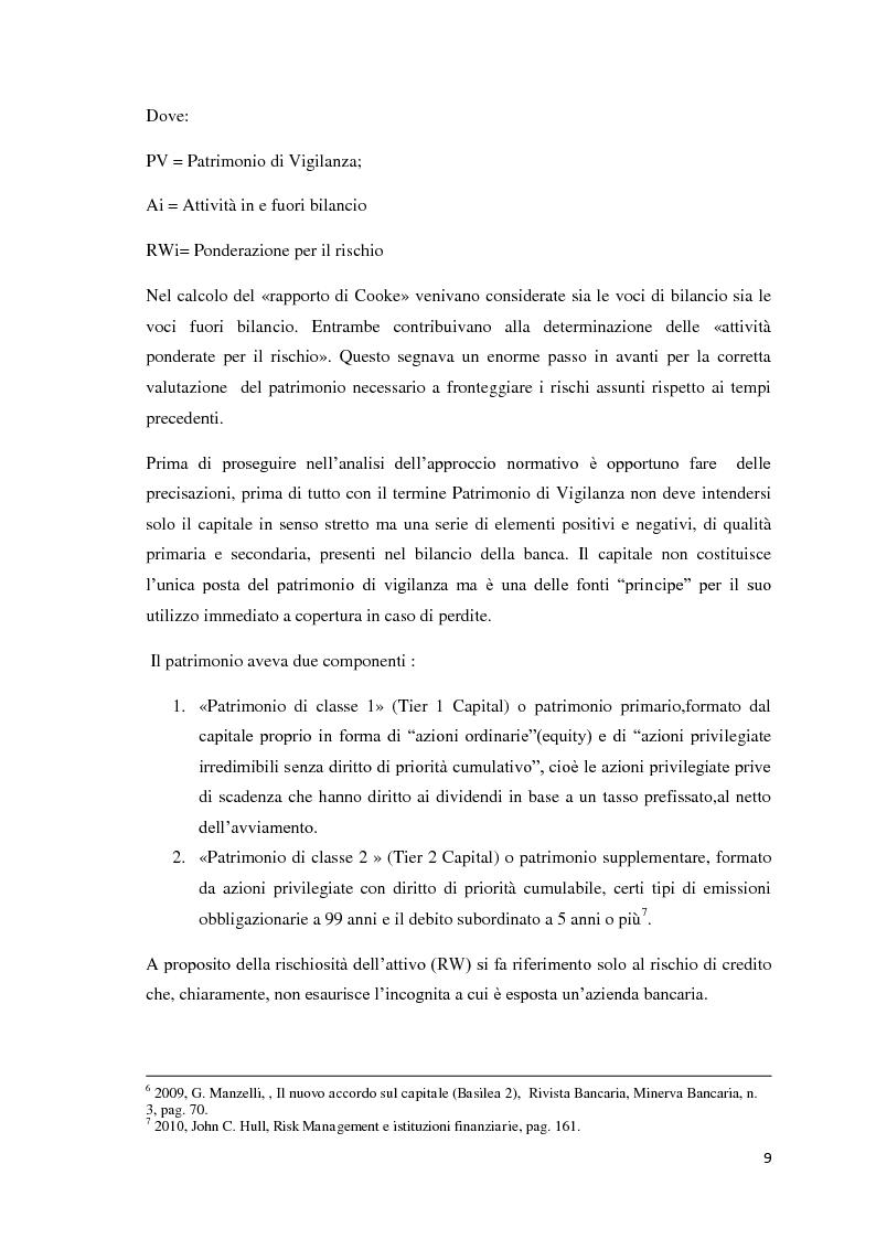 Anteprima della tesi: L'esigenza di un sistema finanziario stabile: Basilea 3, Pagina 6