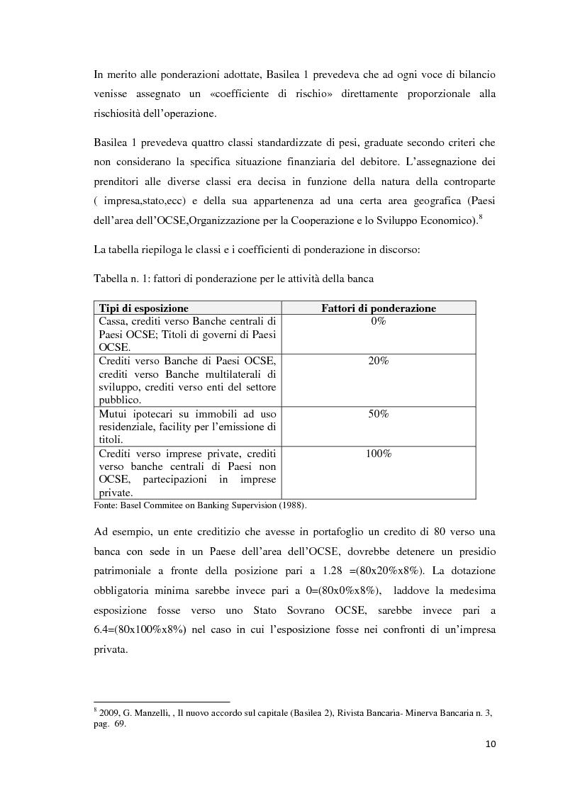 Anteprima della tesi: L'esigenza di un sistema finanziario stabile: Basilea 3, Pagina 7