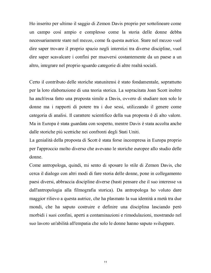 Anteprima della tesi: La nascita della storia di genere. La scuola americana e quella francese a confronto., Pagina 8