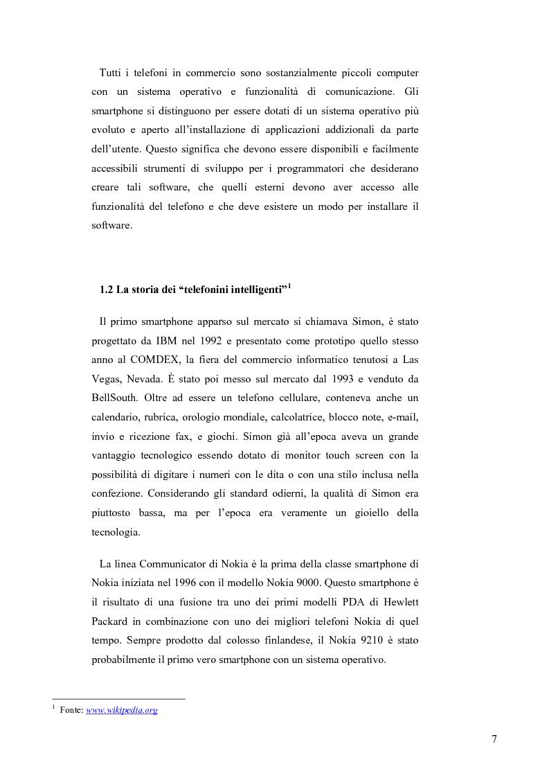 Anteprima della tesi: Il mercato italiano della telefonia mobile: analisi empirica del segmento smartphone tramite la metodologia dei prezzi edonici, Pagina 3