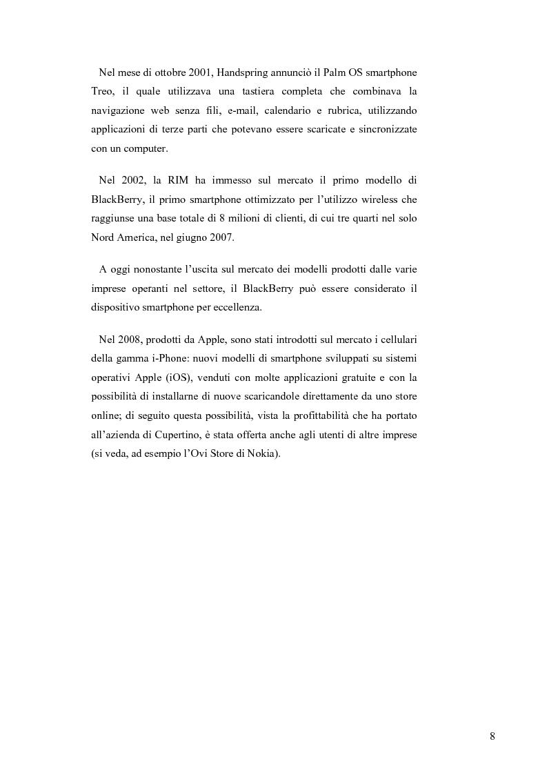 Anteprima della tesi: Il mercato italiano della telefonia mobile: analisi empirica del segmento smartphone tramite la metodologia dei prezzi edonici, Pagina 4