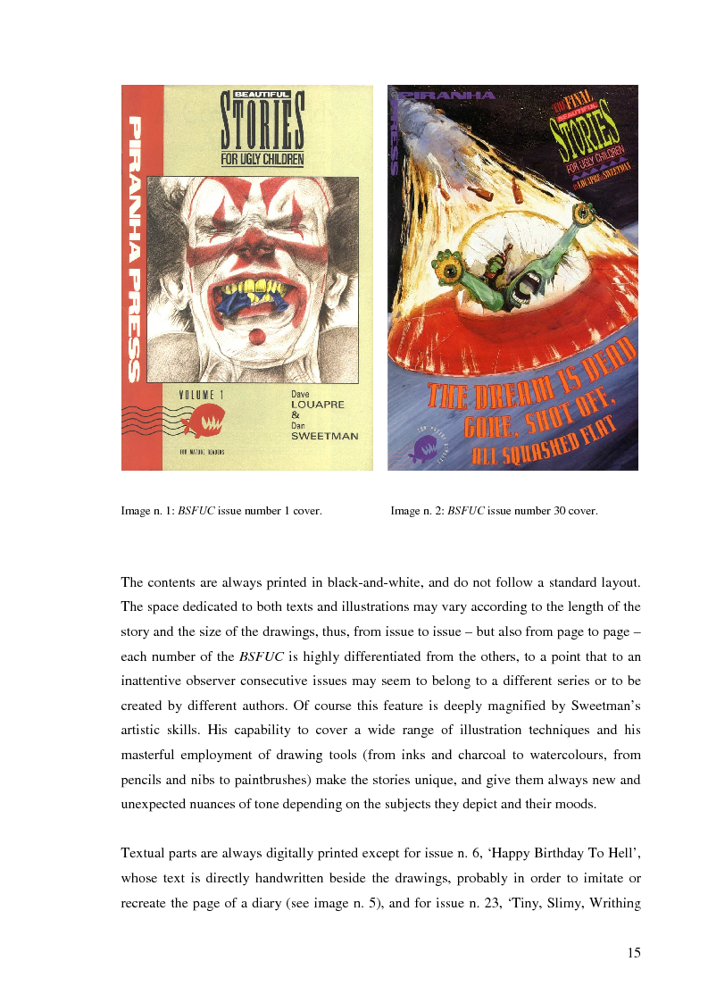 Anteprima della tesi: Beautiful Stories For Ugly Children: Word/Image Interaction in Illustrated Fiction, Pagina 6