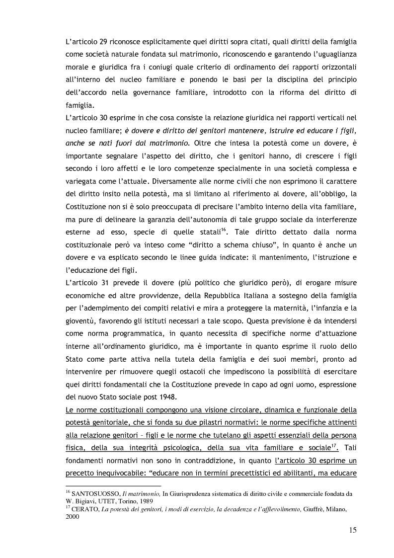 Anteprima della tesi: Il consenso ai trattamenti sanitari per i minori, Pagina 11