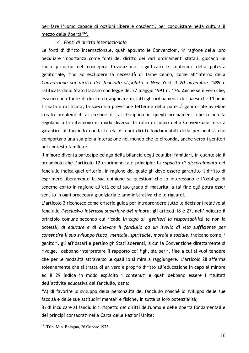 Anteprima della tesi: Il consenso ai trattamenti sanitari per i minori, Pagina 12