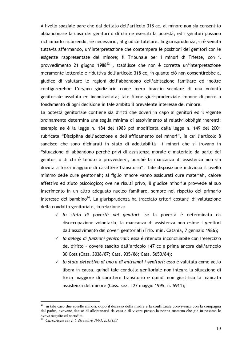 Anteprima della tesi: Il consenso ai trattamenti sanitari per i minori, Pagina 15