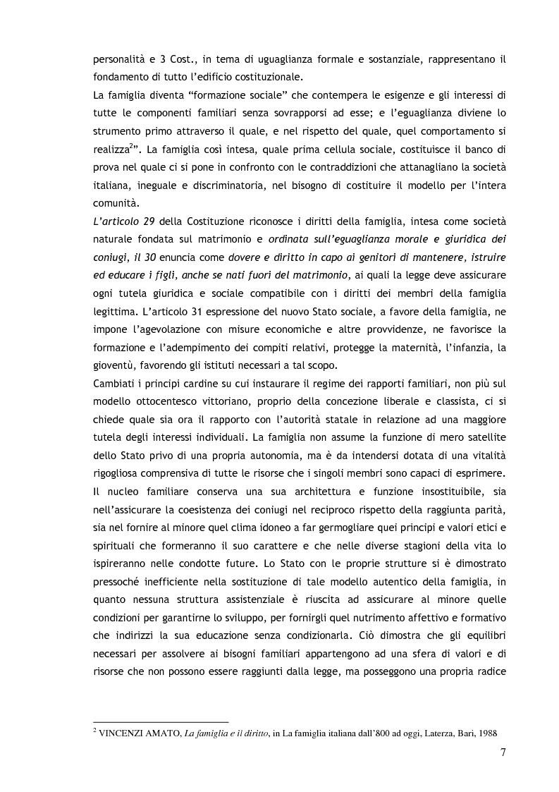 Anteprima della tesi: Il consenso ai trattamenti sanitari per i minori, Pagina 3