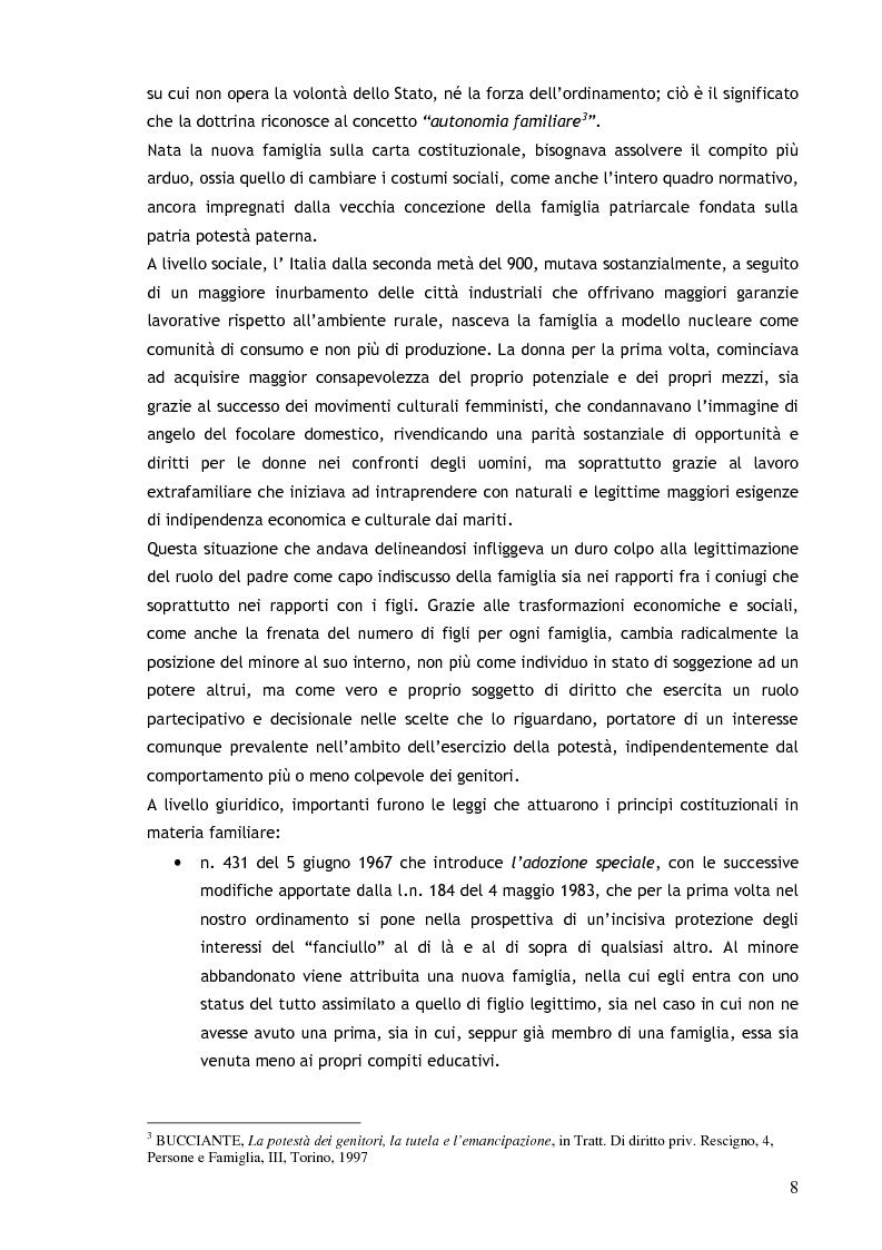 Anteprima della tesi: Il consenso ai trattamenti sanitari per i minori, Pagina 4