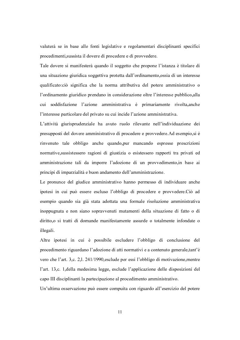 Anteprima della tesi: L'Istituto del Silenzio Assenso alla luce della L. n. 241/1990 e successive modifiche, Pagina 10