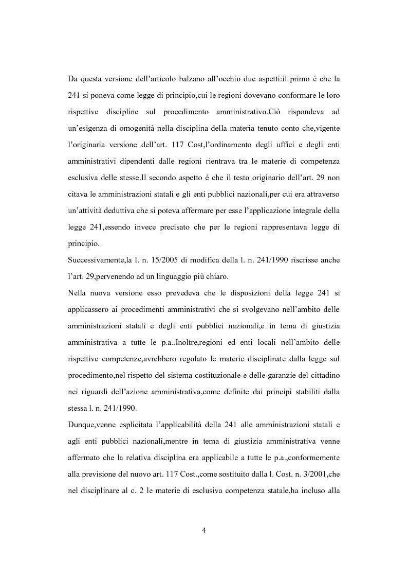 Anteprima della tesi: L'Istituto del Silenzio Assenso alla luce della L. n. 241/1990 e successive modifiche, Pagina 3
