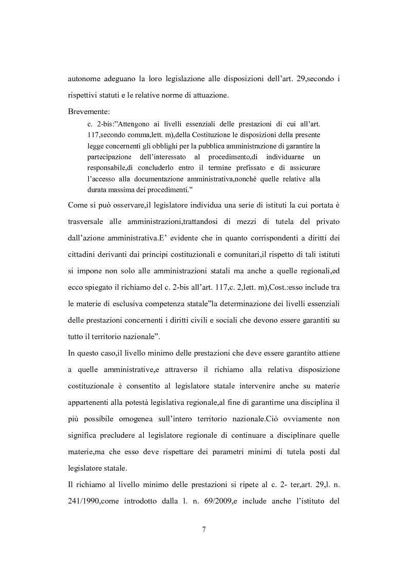 Anteprima della tesi: L'Istituto del Silenzio Assenso alla luce della L. n. 241/1990 e successive modifiche, Pagina 6