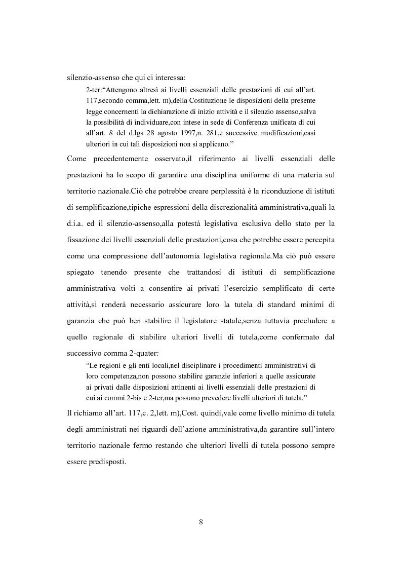Anteprima della tesi: L'Istituto del Silenzio Assenso alla luce della L. n. 241/1990 e successive modifiche, Pagina 7