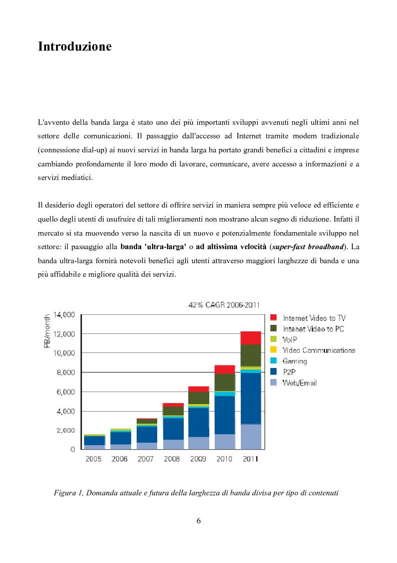 Anteprima della tesi: Competizione e regolamentazione nel settore delle telecomunicazioni, Pagina 2