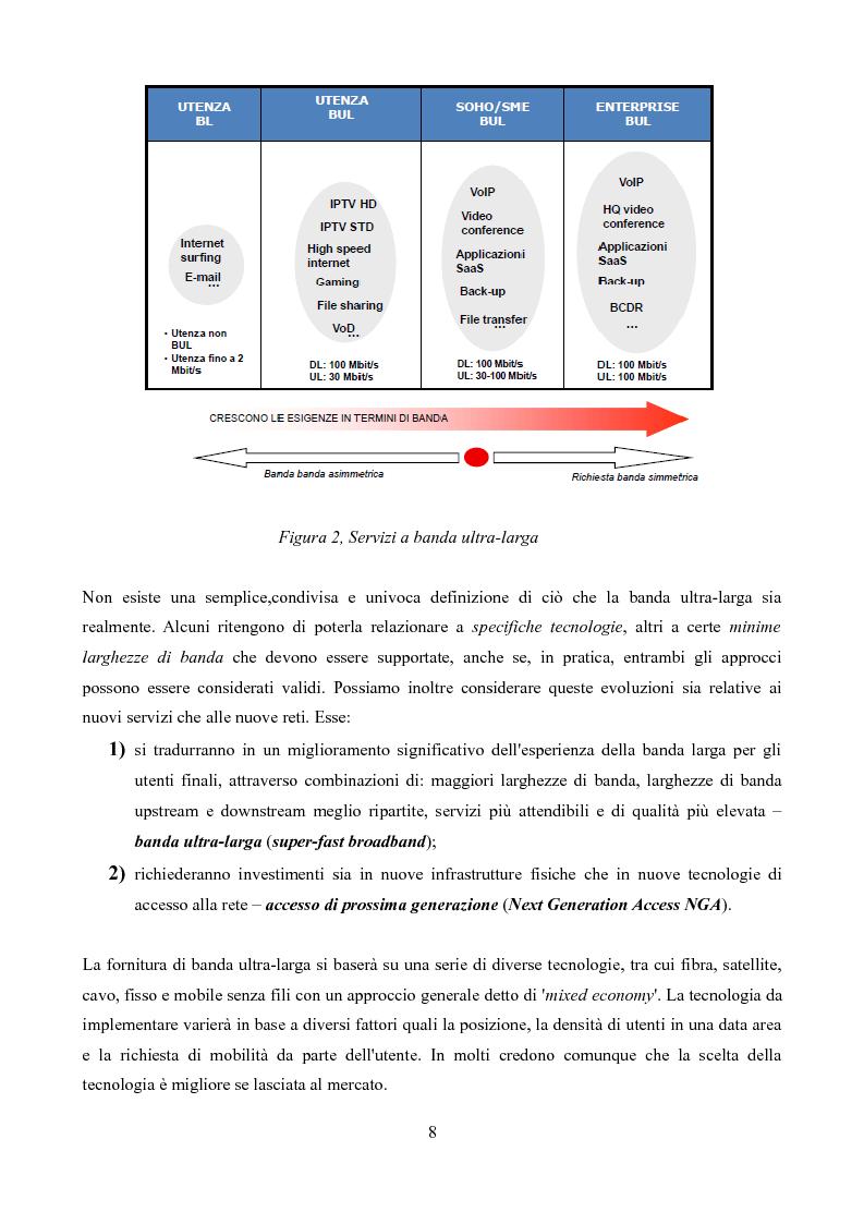 Anteprima della tesi: Competizione e regolamentazione nel settore delle telecomunicazioni, Pagina 4