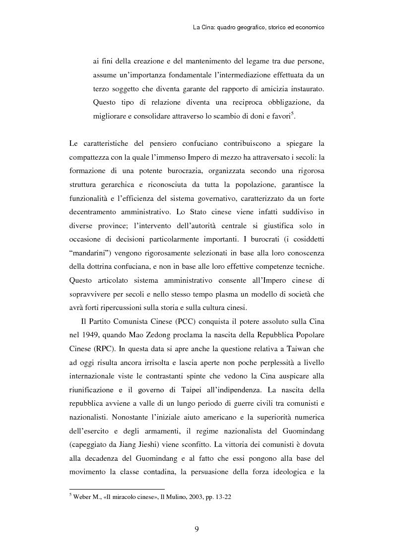 Anteprima della tesi: L'ingresso della Cina in Occidente. Strategie bidirezionali di internazionalizzazione delle imprese. Ipotesi teoriche e casi esemplificativi, Pagina 10