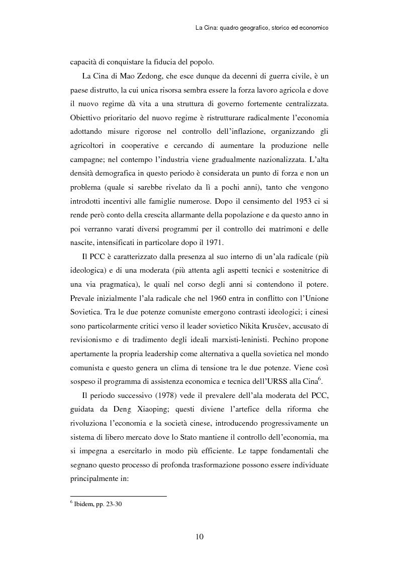 Anteprima della tesi: L'ingresso della Cina in Occidente. Strategie bidirezionali di internazionalizzazione delle imprese. Ipotesi teoriche e casi esemplificativi, Pagina 11