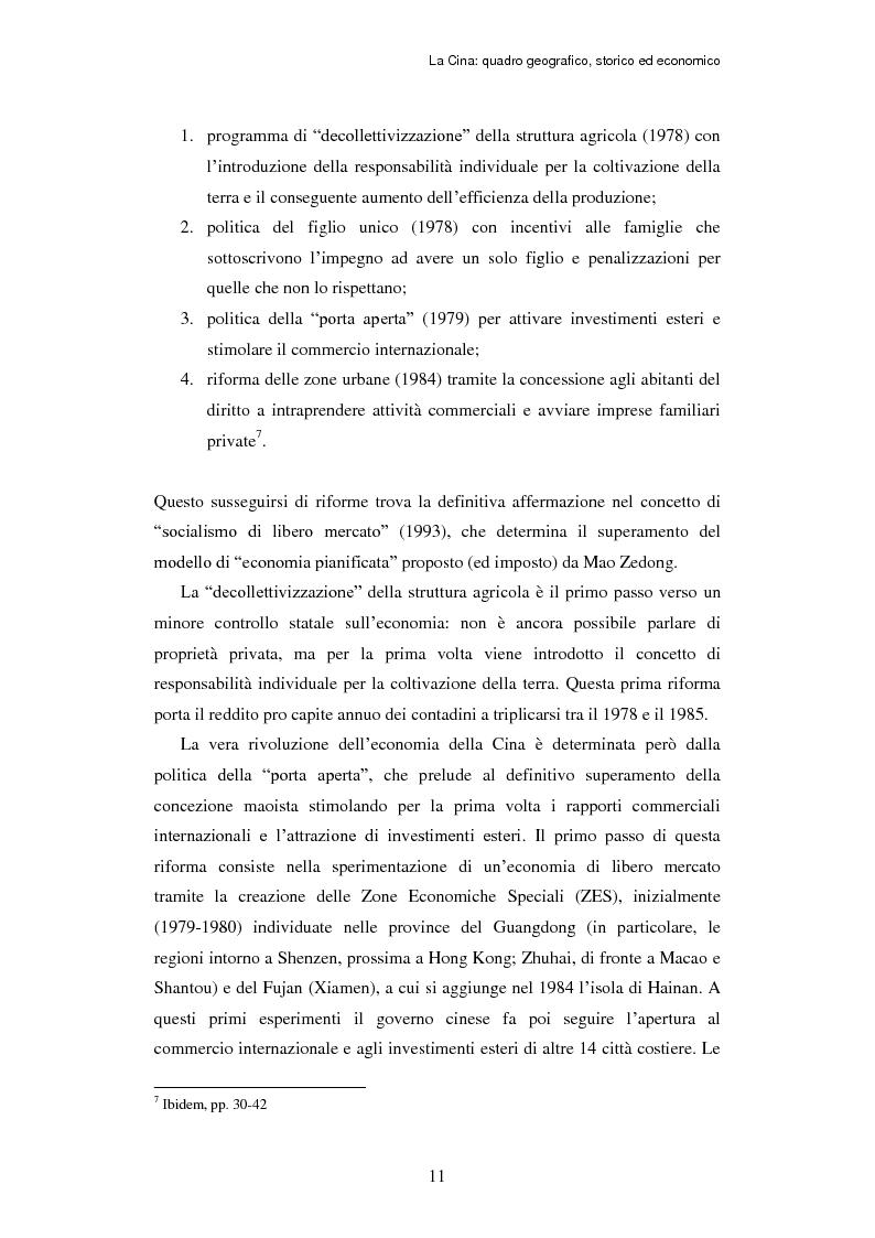 Anteprima della tesi: L'ingresso della Cina in Occidente. Strategie bidirezionali di internazionalizzazione delle imprese. Ipotesi teoriche e casi esemplificativi, Pagina 12