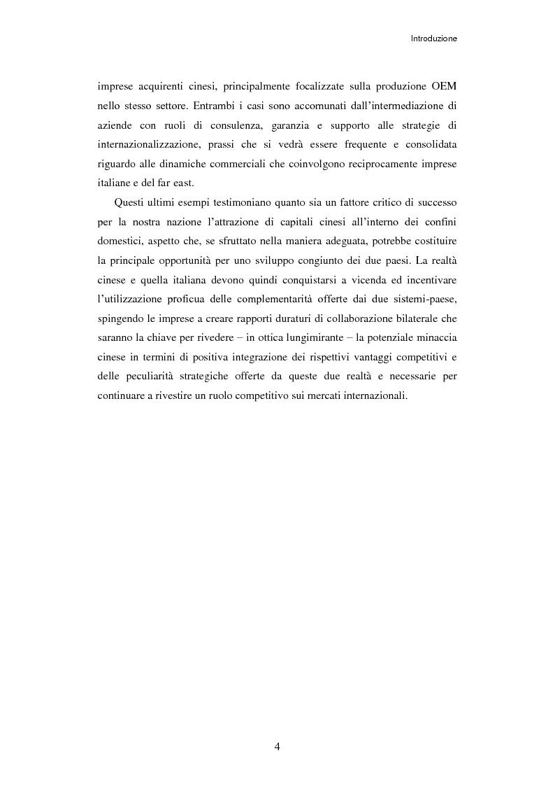 Anteprima della tesi: L'ingresso della Cina in Occidente. Strategie bidirezionali di internazionalizzazione delle imprese. Ipotesi teoriche e casi esemplificativi, Pagina 5