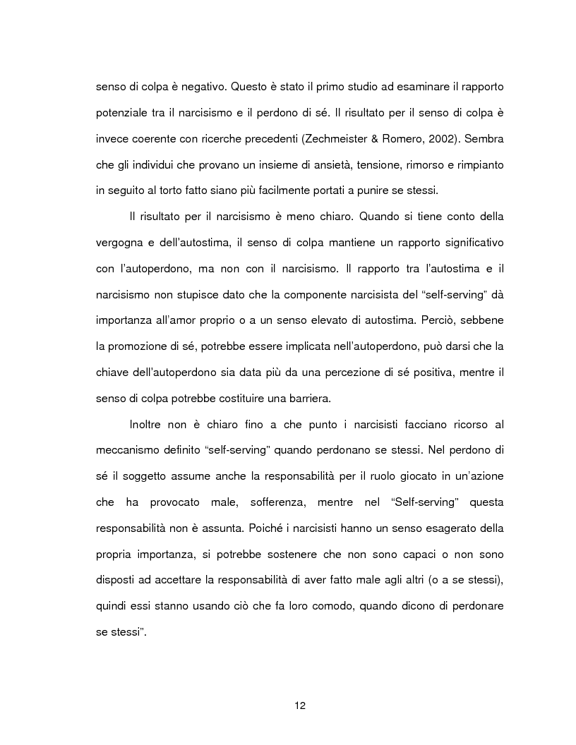 Anteprima della tesi: Il perdono di se stessi è possibile, Pagina 13