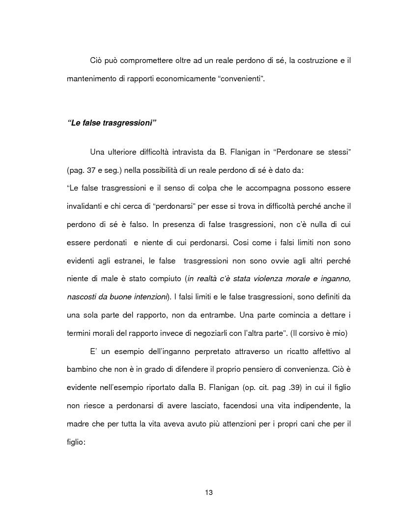 Anteprima della tesi: Il perdono di se stessi è possibile, Pagina 14