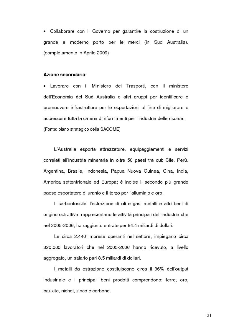 Anteprima della tesi: Risorse energetiche nel Sud Australia: i progetti di sviluppo geopolitico, Pagina 11