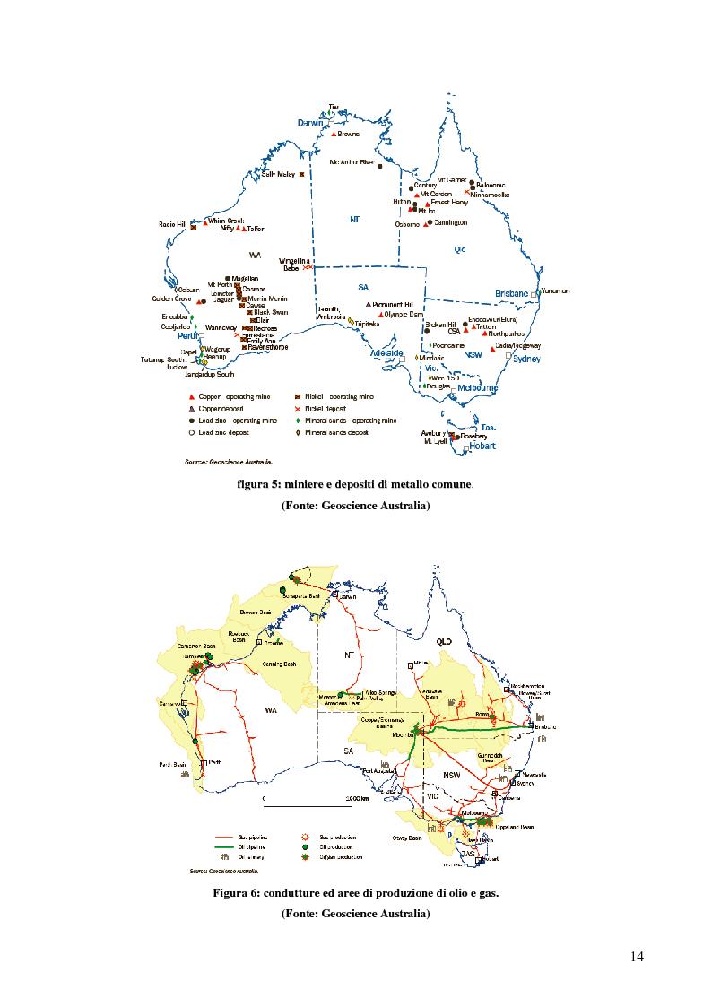 Anteprima della tesi: Risorse energetiche nel Sud Australia: i progetti di sviluppo geopolitico, Pagina 4