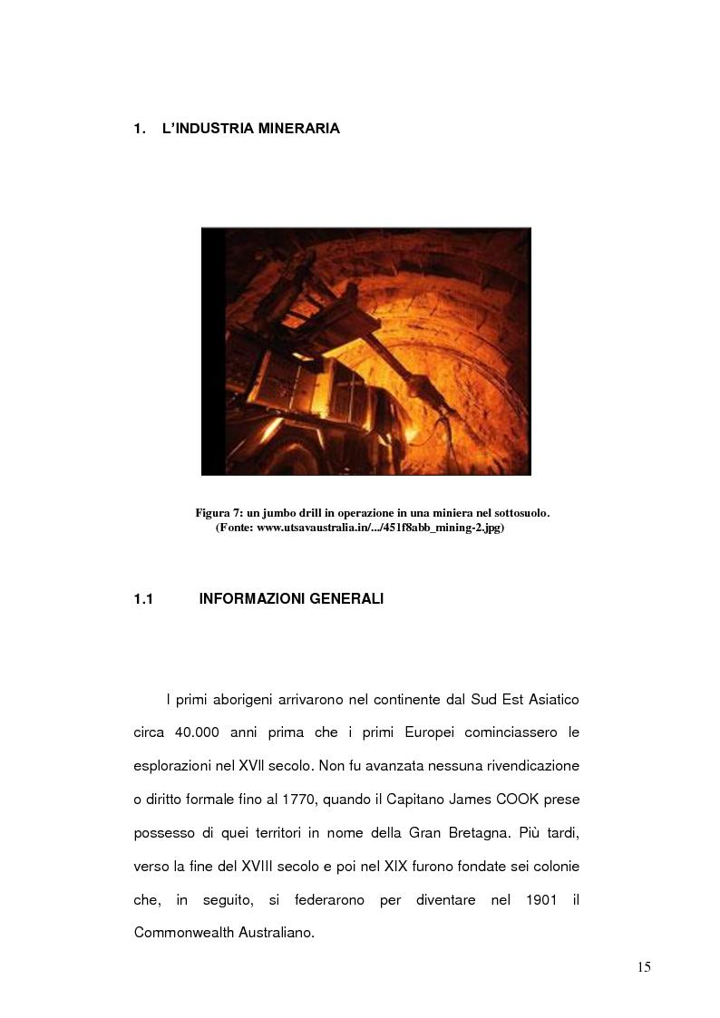 Anteprima della tesi: Risorse energetiche nel Sud Australia: i progetti di sviluppo geopolitico, Pagina 5