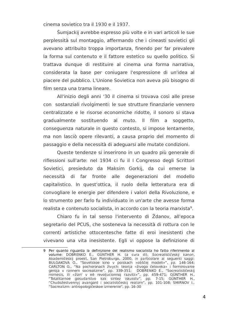 Anteprima della tesi: ''Ciapaiev'' tra l'Unione Sovietica e l'Occidente, Pagina 5