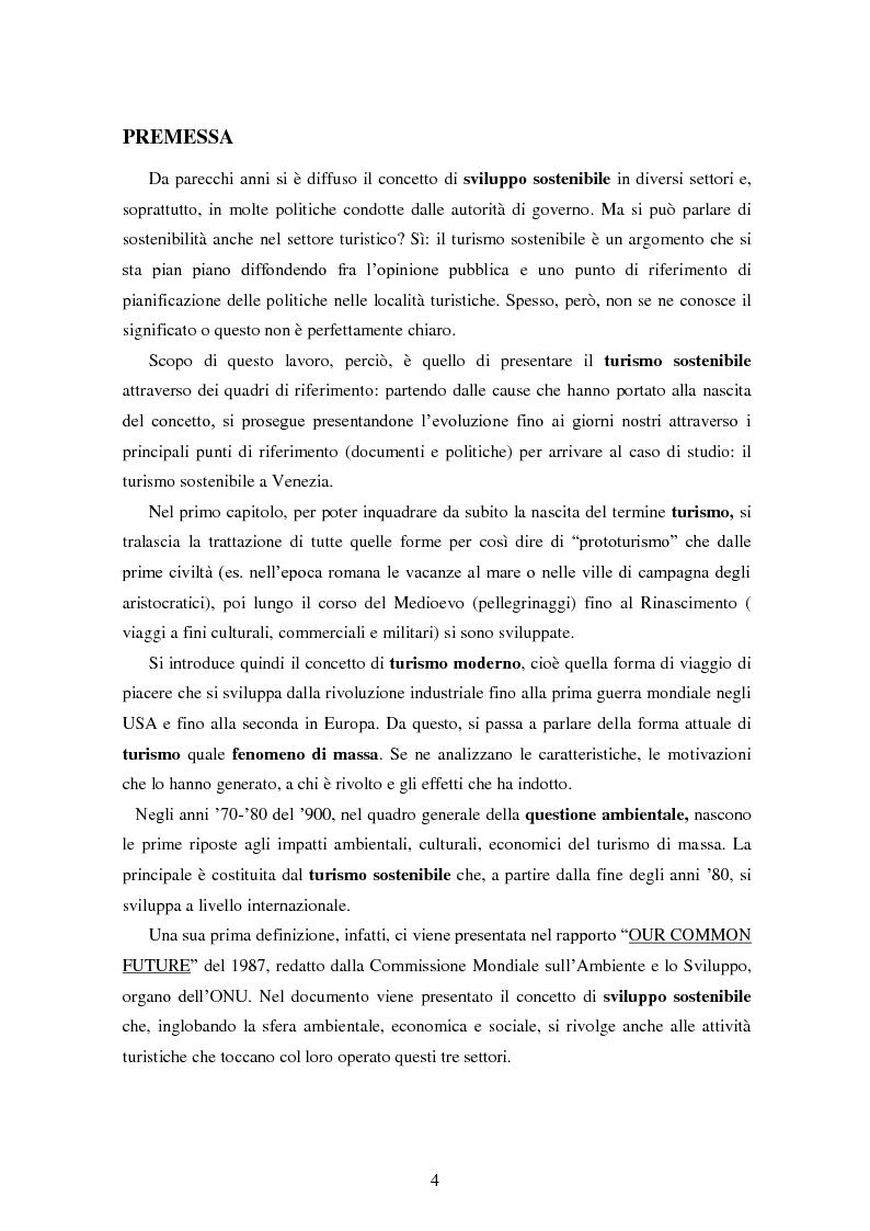 Anteprima della tesi: Analisi dei quadri di riferimento per il turismo sostenibile tra teoria e pratica, Pagina 2