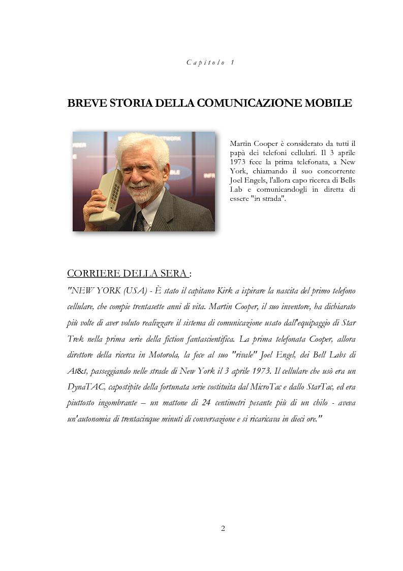 Anteprima della tesi: Infrastrutture di telecomunicazioni: tecniche e procedure di installazione e collaudo, Pagina 2