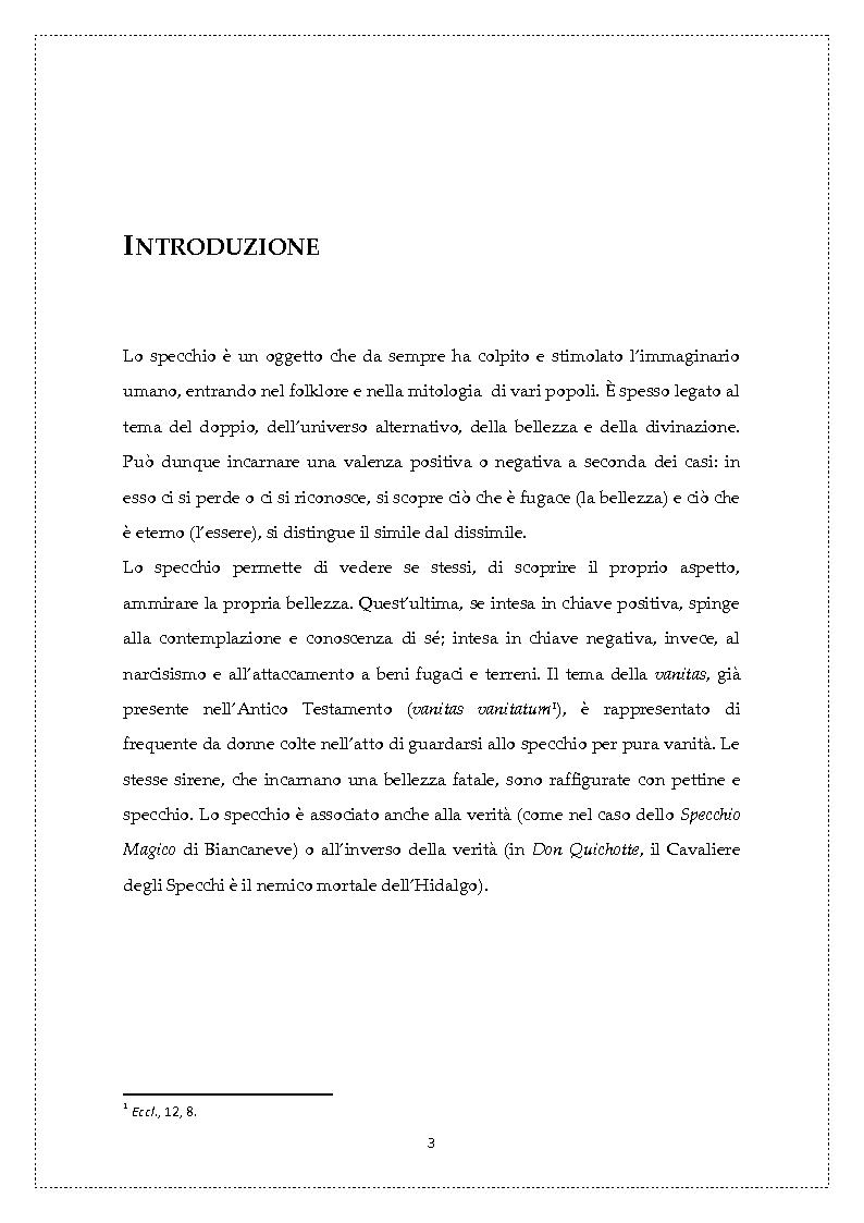 Nan allo specchio narcisismo e femme fatale tesi di laurea tesionline - Nuda allo specchio ...