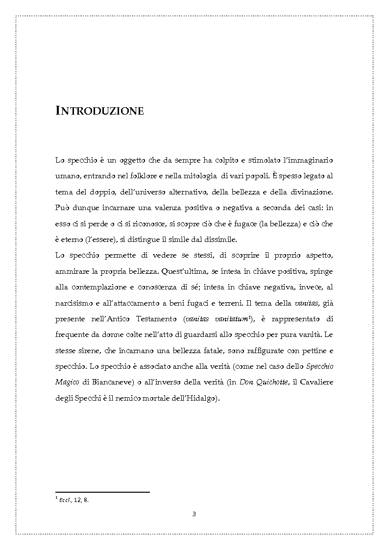 Anteprima della tesi: Nanà allo specchio: narcisismo e femme fatale, Pagina 2