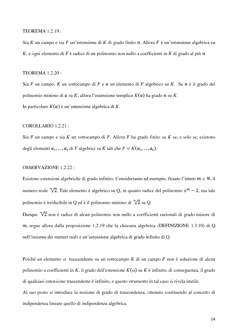 Anteprima della tesi: Curve algebriche piane e serie lineari, Pagina 11