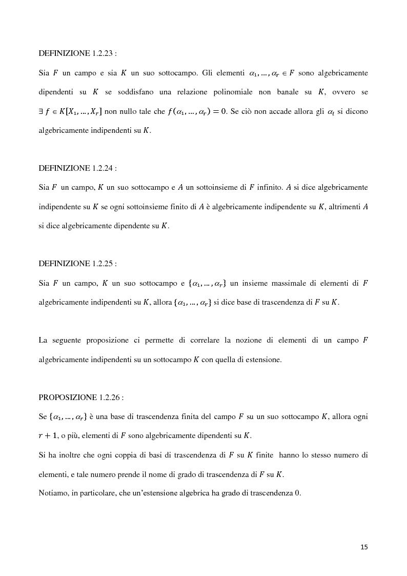 Anteprima della tesi: Curve algebriche piane e serie lineari, Pagina 12