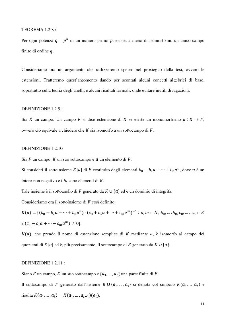 Anteprima della tesi: Curve algebriche piane e serie lineari, Pagina 8