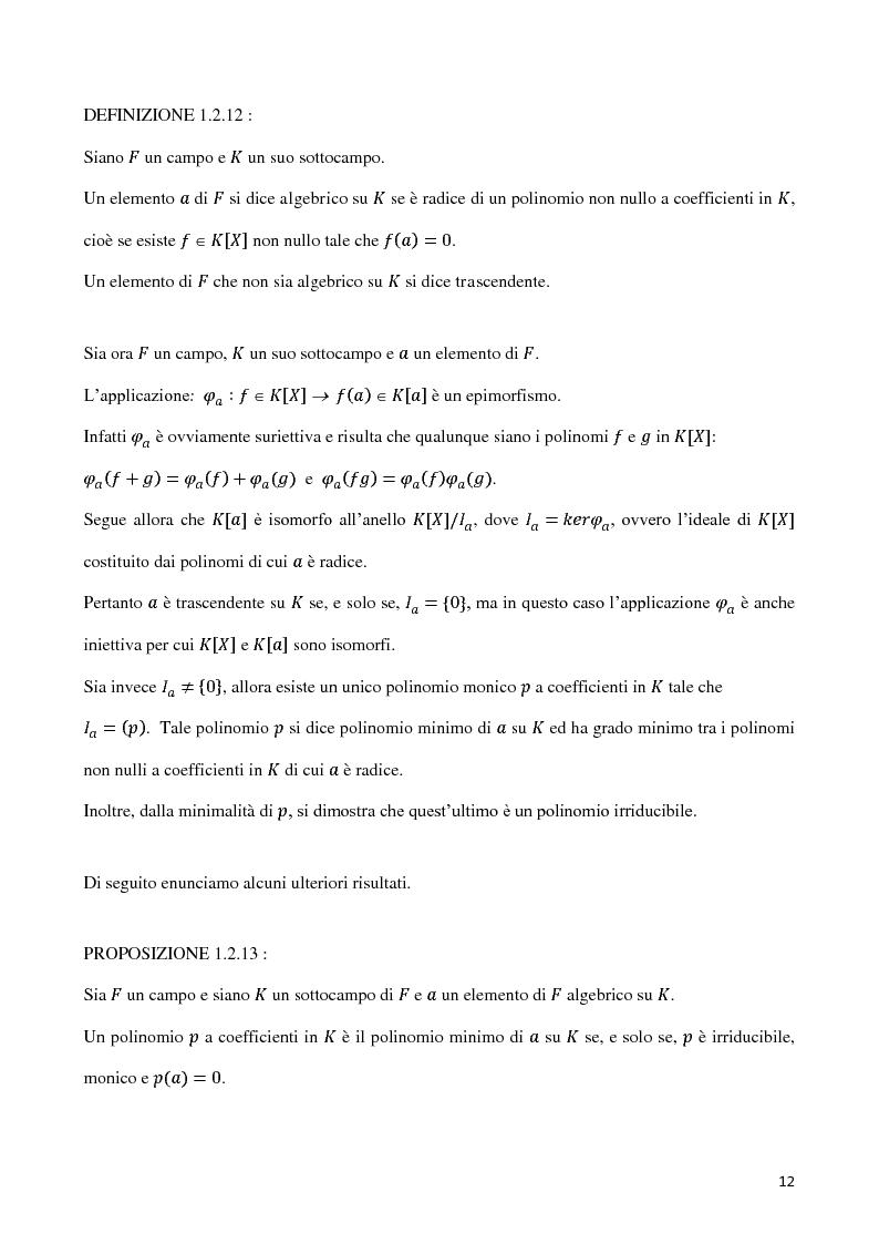 Anteprima della tesi: Curve algebriche piane e serie lineari, Pagina 9