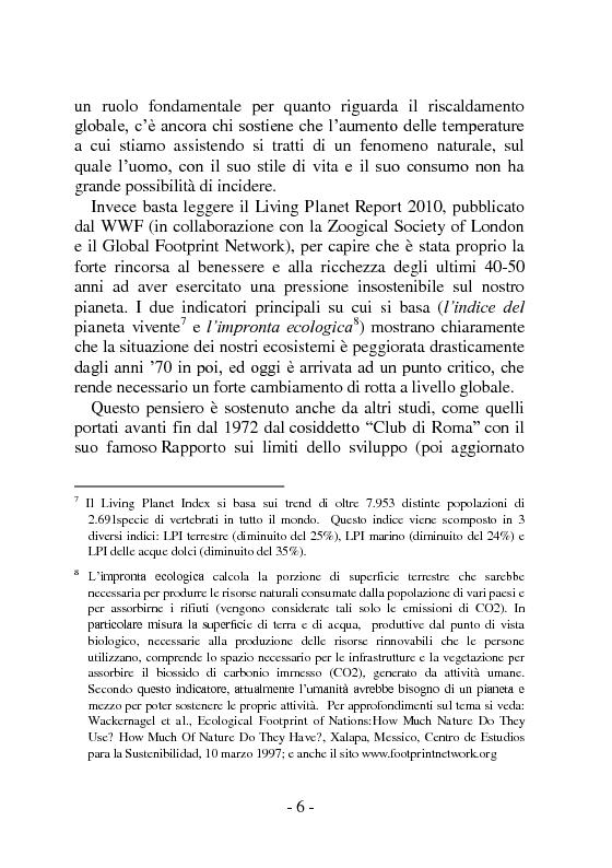 Anteprima della tesi: I sistemi distributivi basati su reti di relazioni. Network Marketing e Gruppi d'Acquisto Solidale: un'analisi degli impatti potenziali a livello economico, sociale ed ambientale, Pagina 7