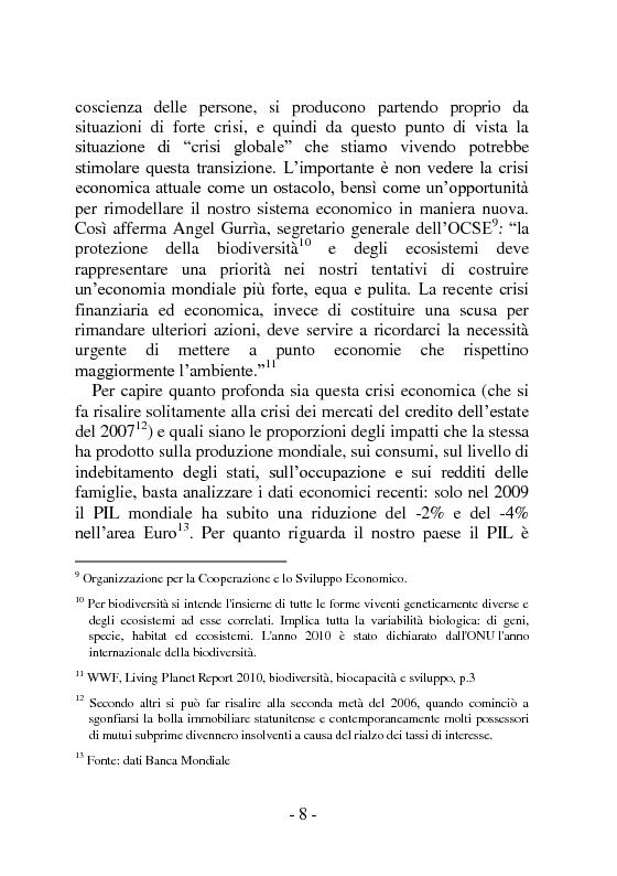 Anteprima della tesi: I sistemi distributivi basati su reti di relazioni. Network Marketing e Gruppi d'Acquisto Solidale: un'analisi degli impatti potenziali a livello economico, sociale ed ambientale, Pagina 9