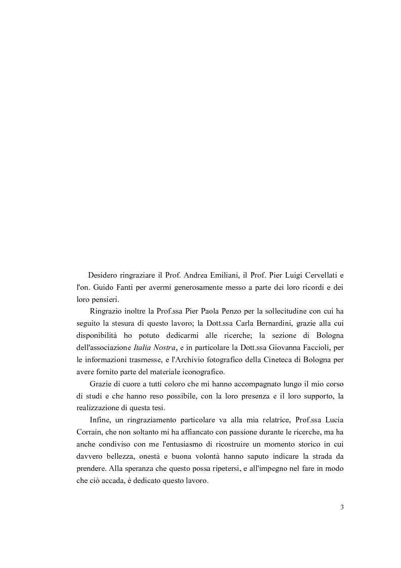 Anteprima della tesi: Bologna 1970. La riscoperta dell'identità come risorsa sociale, Pagina 3