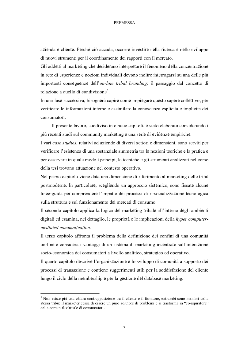Anteprima della tesi: Le tribù di Internet: una nuova applicazione del marketing nel virtuale, Pagina 4