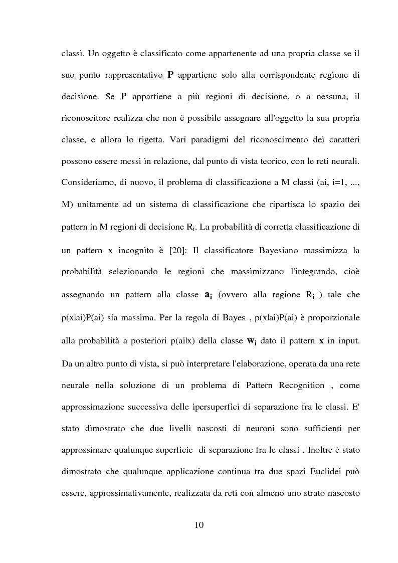 Anteprima della tesi: Una panoramica degli algoritmi di zoning nel riconoscimento dei caratteri manoscritti, Pagina 6