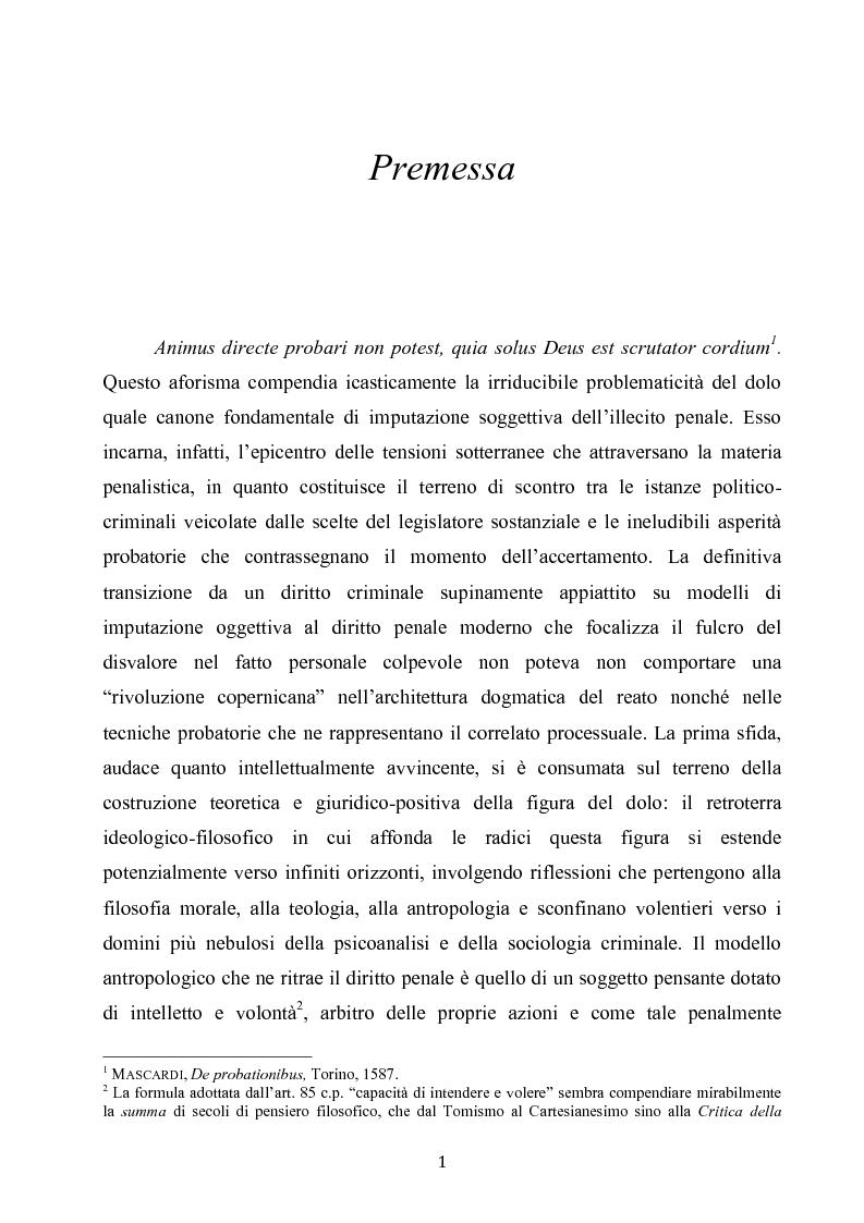Anteprima della tesi: Dolus in re ipsa, Pagina 2