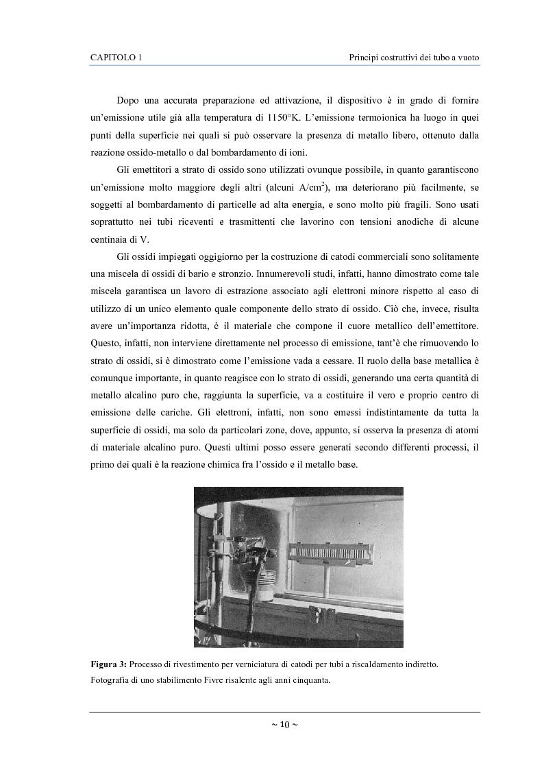 Anteprima della tesi: Caratterizzazione, modelling e studio del rumore di valvole termoioniche per applicazioni audio, Pagina 11