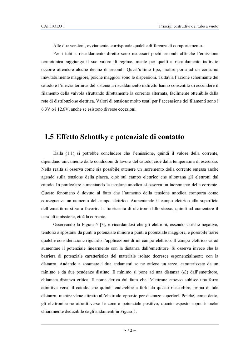Anteprima della tesi: Caratterizzazione, modelling e studio del rumore di valvole termoioniche per applicazioni audio, Pagina 14