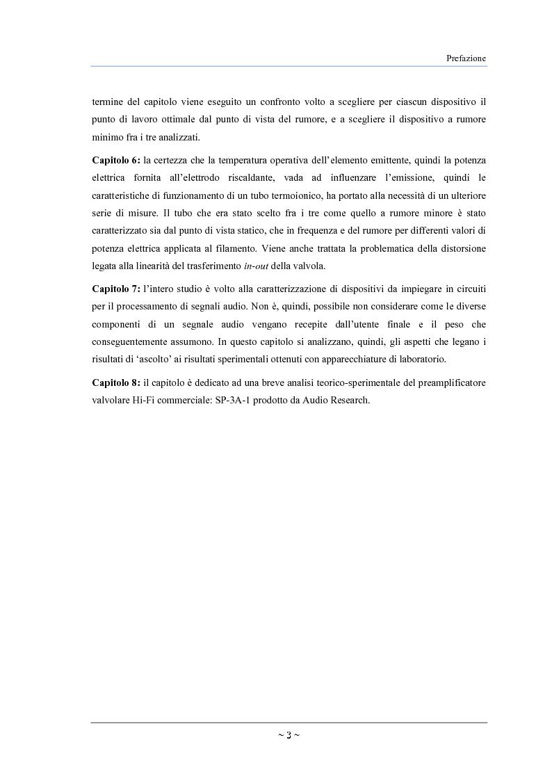 Anteprima della tesi: Caratterizzazione, modelling e studio del rumore di valvole termoioniche per applicazioni audio, Pagina 4