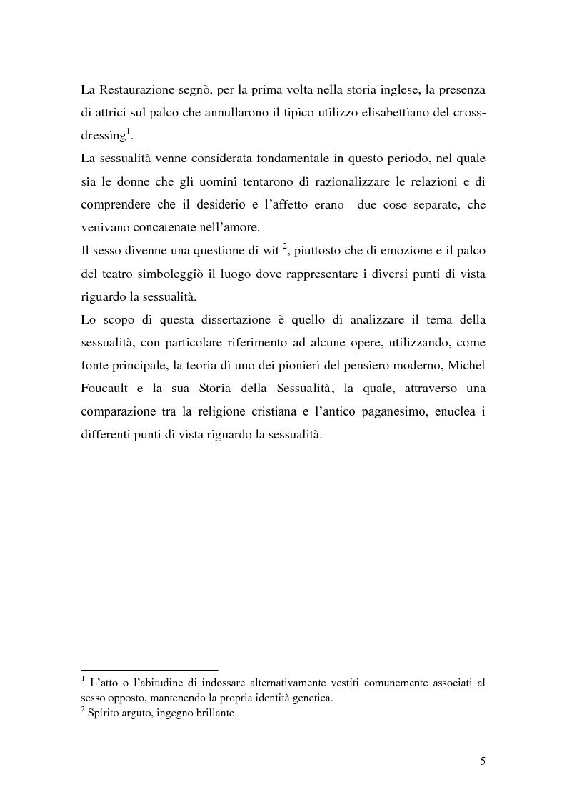 Anteprima della tesi: Libertinismo e sessualità sul palco del teatro della Restaurazione, Pagina 3