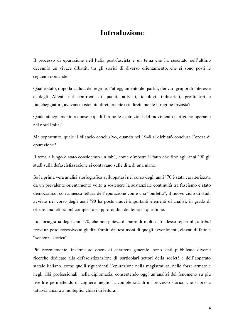 Anteprima della tesi: Un'eredità scomoda: dall'epurazione alla legge di Amnistia (1943-1948), Pagina 2