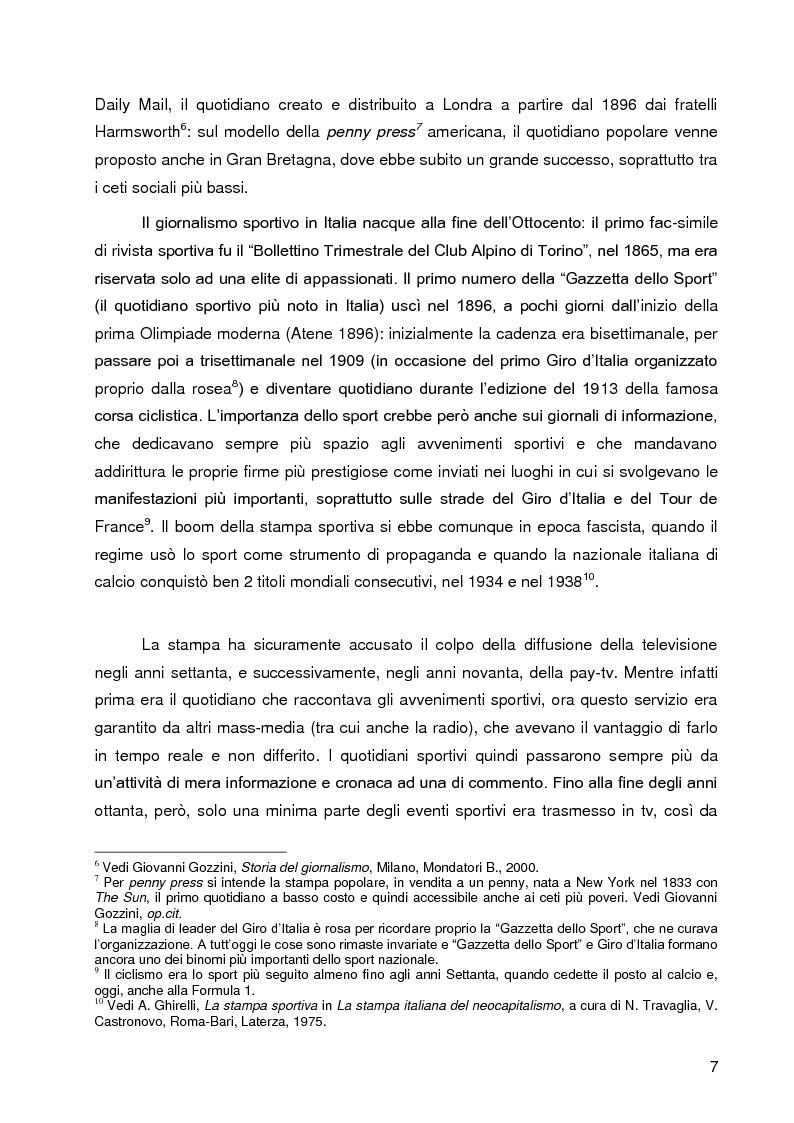 Anteprima della tesi: Progetto A.C. Siena: l'evoluzione della società e il ruolo strategico della comunicazione per la sfida della serie A, Pagina 5