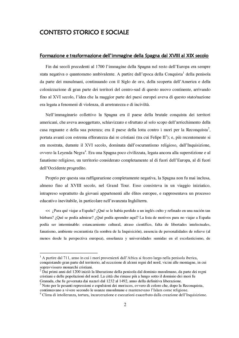 Anteprima della tesi: Carmen: un'immagine della Spagna nell'800, Pagina 3